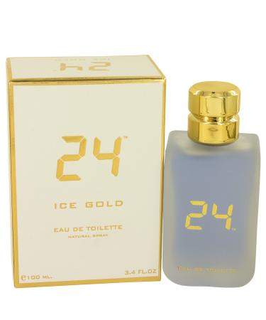 24 Ice Gold by ScentStory For Men - Eau De Toilette Spray 100 ml