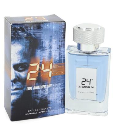 24 Live Another Day by ScentStory For Men - Eau De Toilette Spray 50 ml
