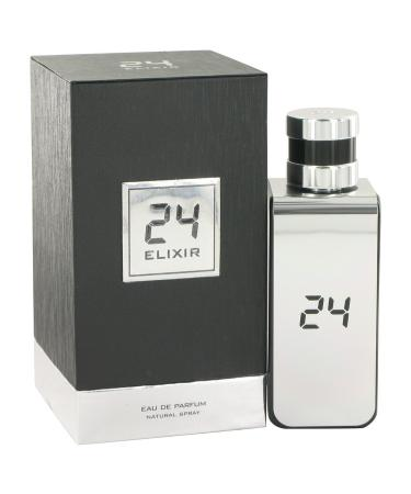 24 Platinum Elixir by ScentStory For Men - Eau De Parfum Spray 100 ml