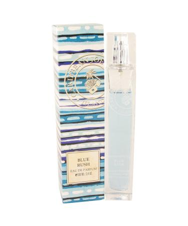 Blue Rush (Caribbean Joe) by Caribbean Joe For Women - Eau De Parfum Spray 100 ml