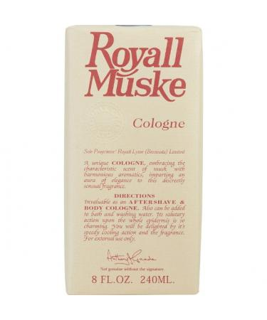 ROYALL MUSKE by Royall Fragrances For Men - All Purpose Lotion / Cologne 240 ml