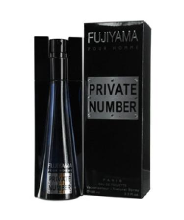 Fujiyama Private Number by Succes De Paris For Men - Eau De Toilette Spray 100 ml