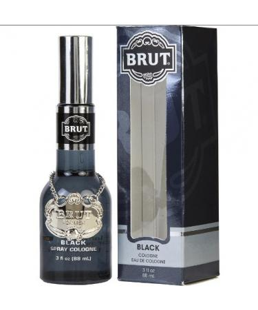 Brut Black by Faberge For Men - Cologne Spray 90 ml