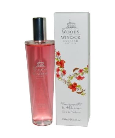 Pomegranate & Hibiscus by Woods of Windsor For Women - Eau De Toilette Spray 100 ml