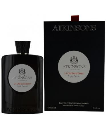 24 Old Bond Street Triple Extract by Atkinsons For Men - Eau De Cologne Concentree Spray 100 ml