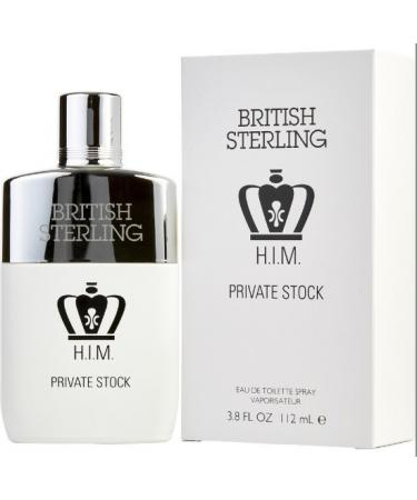 British Sterling Him Private Stock by Dana For Men - Eau De Toilette Spray 112 ml