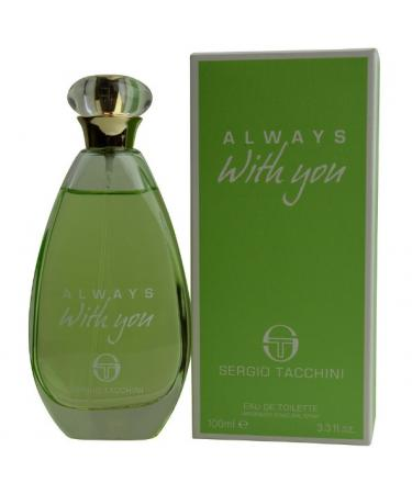 Sergio Tacchini Always With You by Sergio Tacchini For Women - Eau De Toilette Spray 100 ml
