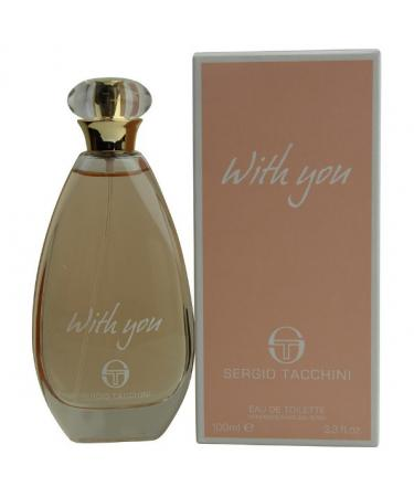 Sergio Tacchini With You by Sergio Tacchini For Women - Eau De Toilette Spray 100 ml