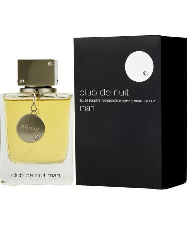 Club De Nuit by Armaf For Men - Eau De Toilette Spray 106 ml