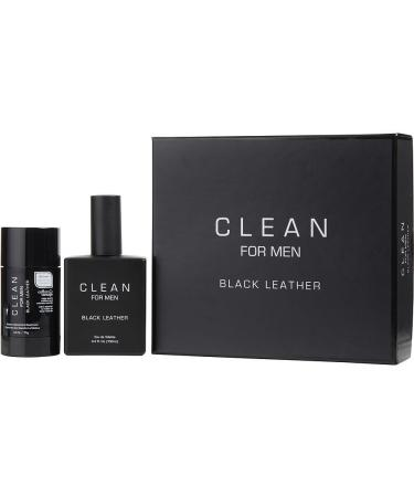 Clean Black Leather by Clean For Men - Eau De Toilette Spray 100 ml