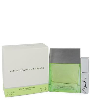 Paradise by Alfred Sung For Women - Eau De Parfum Spray with Mini 100 ml