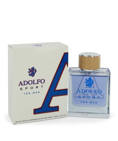 Adolfo Sport by Adolfo For Men - Eau De Toilette Spray 100 ml