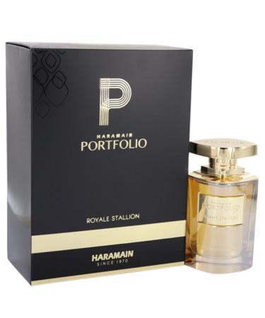 Portfolio Royale Stallion by Al Haramain For Men - Eau De Parfum Spray 75 ml