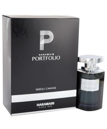 Portfolio Neroli Canvas by Al Haramain For Men - Eau De Parfum Spray 75 ml
