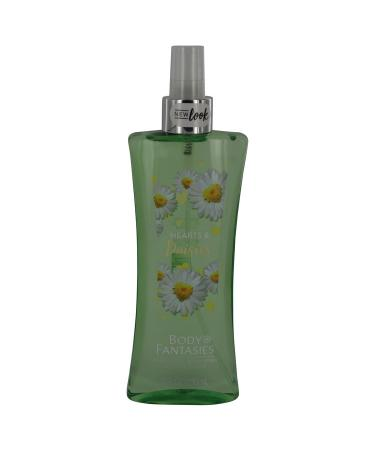 Body Fantasies Signature Hearts & Daisies by Parfum De Coeur For Women - Body Spray 240 ml