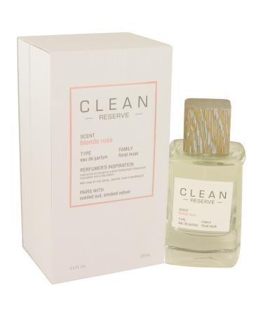 Clean Blonde Rose by Clean For Women - Eau De Parfum Spray 100 ml