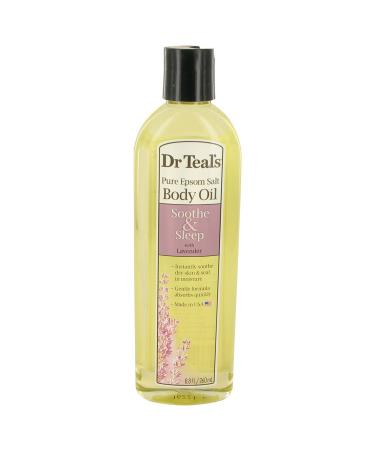 Dr Teal's Bath Oil Sooth & Sleep with Lavender by Dr Teal's For Women - Pure Epsom Salt Body Oil Sooth & Sleep with Lavender 260 ml
