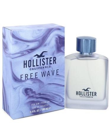 Hollister Free Wave by Hollister For Men - Eau De Toilette Spray 100 ml