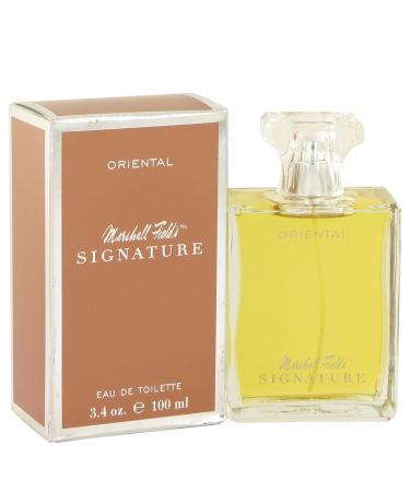 Marshall Fields Signature Oriental by Marshall Fields For Women - Eau De Toilette Spray (Scratched box) 100 ml