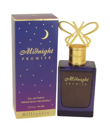 Midnight Promise by Bellegance For Women - Eau De Parfum Spray 75 ml