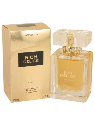 Rich Delice by Johan B For Women - Eau De Parfum Spray 83 ml