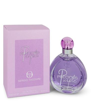 Sergio Tacchini Precious Purple by Sergio Tacchini For Women - Eau De Toilette Spray 100 ml