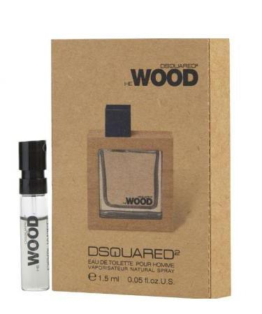 He Wood by Dsquared2 For Men - Vial (sample) 1 ml