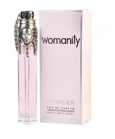 Womanity by Thierry Mugler For Women - Eau De Parfum Refillable Spray 80 ml